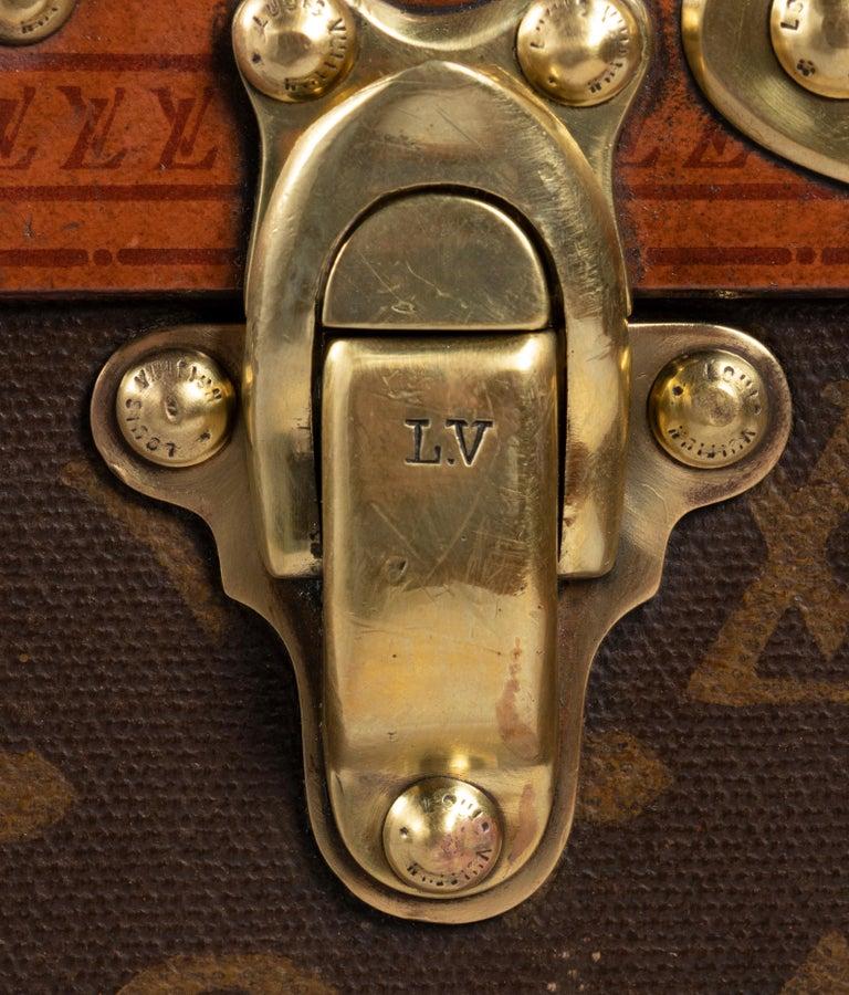 Mid-20th Century Louis Vuitton Hatbox, 1930s-1940s For Sale