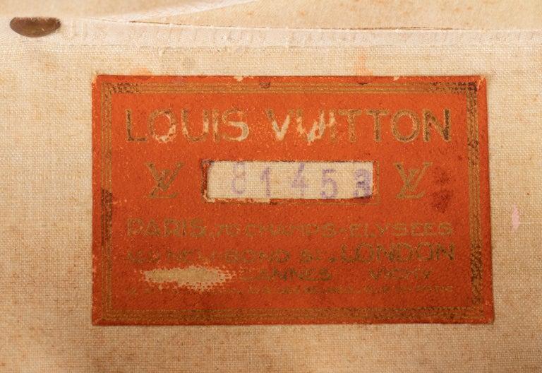 Louis Vuitton Hatbox, 1930s-1940s For Sale 1