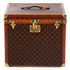 Louis Vuitton Hatbox, 1930s-1940s