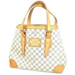 LOUIS VUITTON Hempstead MM Womens handbag N51206 white