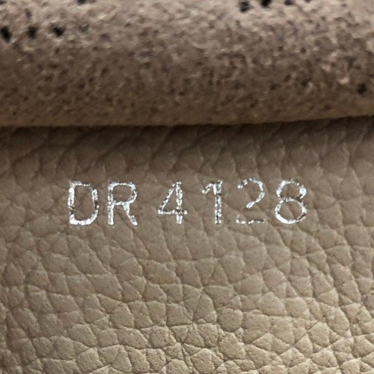 Louis Vuitton Hina Handbag Mahina Leather MM For Sale 5