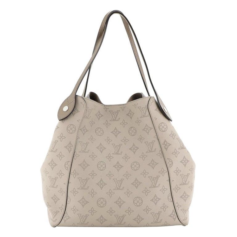 Louis Vuitton Hina Handbag Mahina Leather MM For Sale