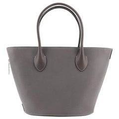 Louis Vuitton Holdall Tote Veau Satin Leather PM