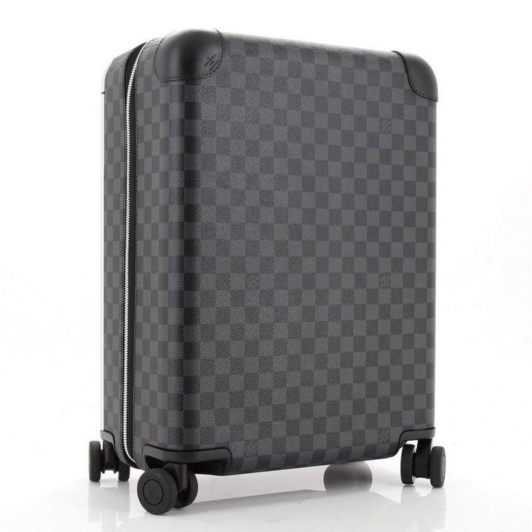 Black Louis Vuitton Horizon Luggage Damier Graphite 50 For Sale
