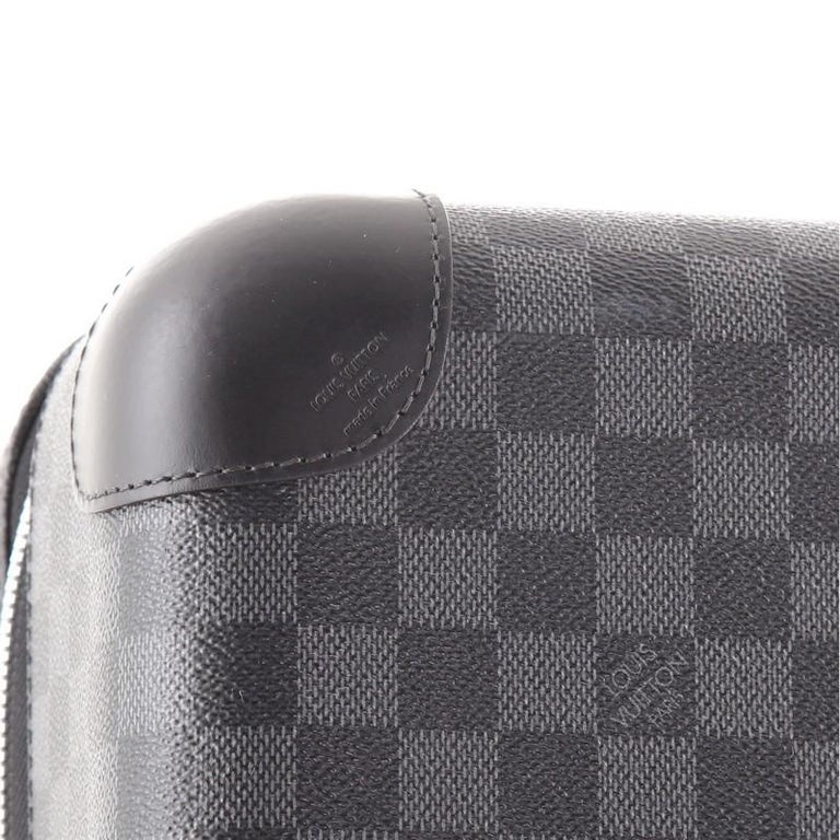 Louis Vuitton Horizon Luggage Damier Graphite 50 For Sale 2