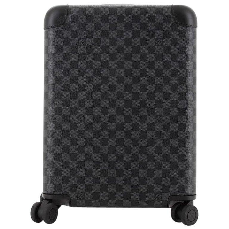 Louis Vuitton Horizon Luggage Damier Graphite 50 For Sale