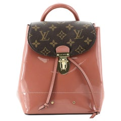 Louis Vuitton Hot Springs Backpack Vernis with Monogram Canvas