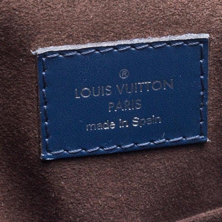 Louis Vuitton Indigo Epi Leather Cluny MM Bag 5