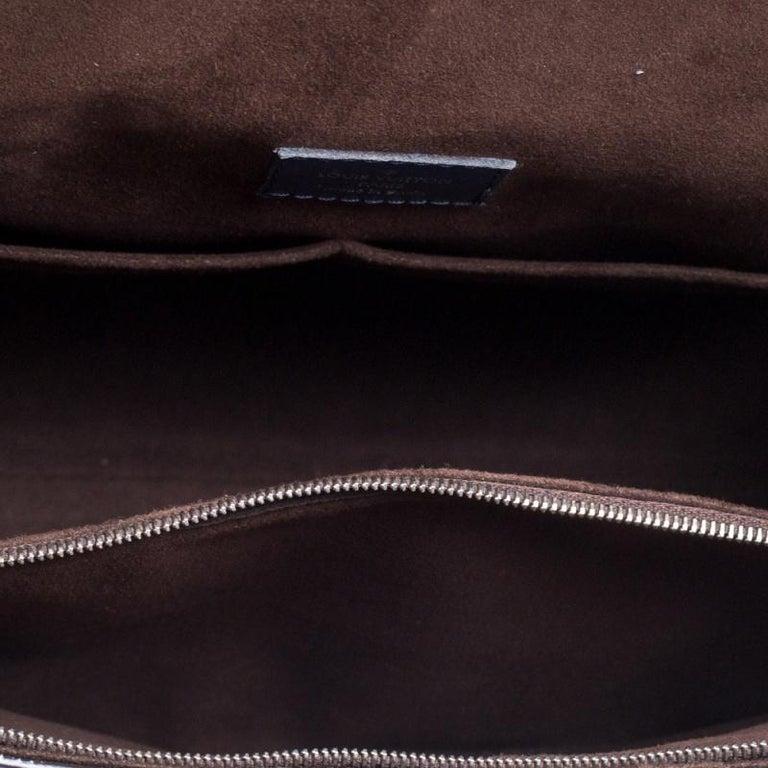 Louis Vuitton Indigo Epi Leather Cluny MM Bag 6