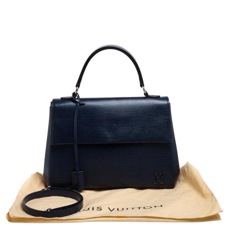 Louis Vuitton Indigo Epi Leather Cluny MM Bag 8