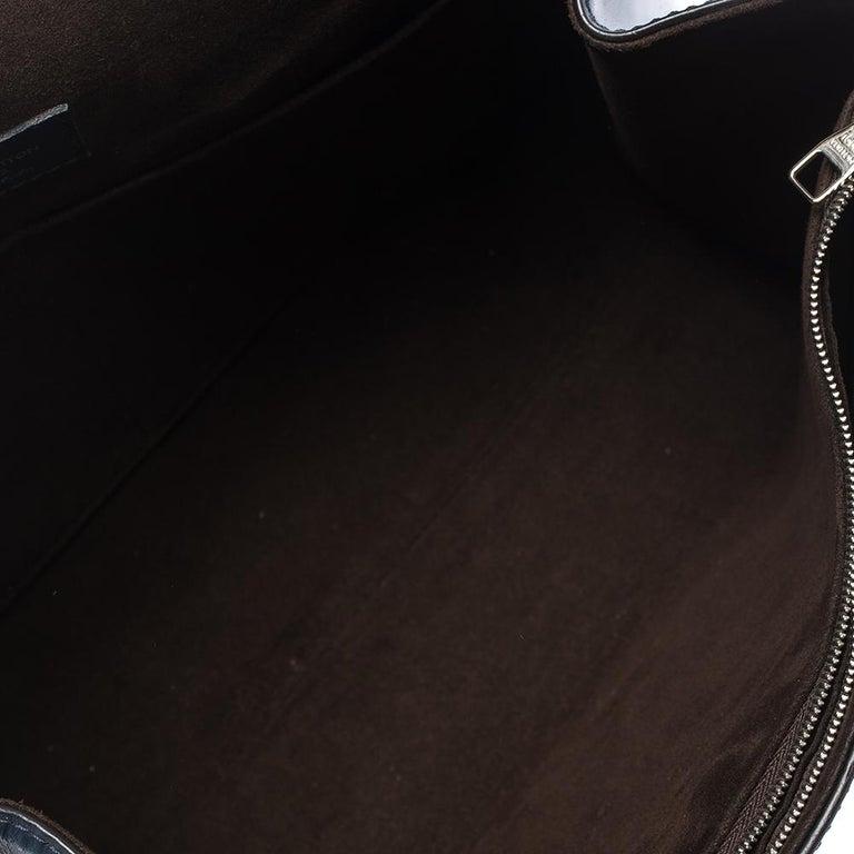 Louis Vuitton Indigo Epi Leather Cluny MM Bag For Sale 4