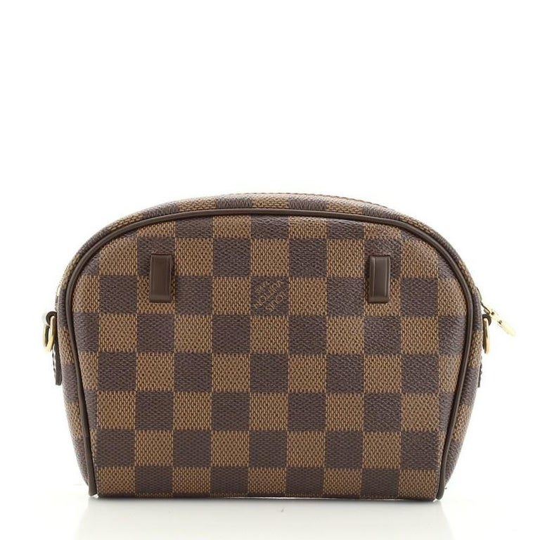 Louis Vuitton Ipanema Pochette Damier In Fair Condition For Sale In New York, NY