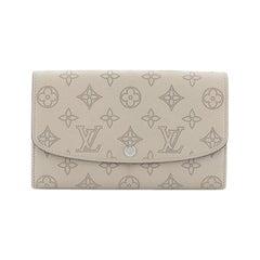 Louis Vuitton Iris Wallet NM Mahina Leather