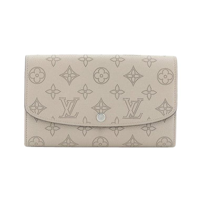 Louis Vuitton Iris Wallet NM Mahina Leather For Sale