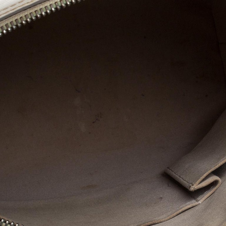 Louis Vuitton Ivorie Epi Leather Lockit Vertical Bag For Sale 3