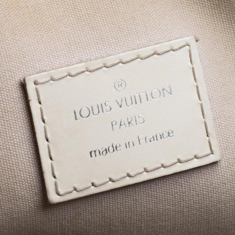 Louis Vuitton Ivorie Epi Leather Lockit Vertical Bag For Sale 4