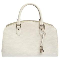 Louis Vuitton Ivorie Epi Leather Pont Neuf PM Bag