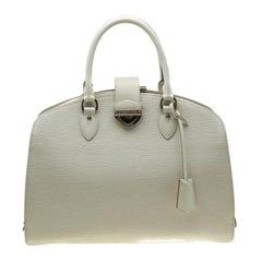 Louis Vuitton Ivory Epi Leather Pont Neuf GM Bag