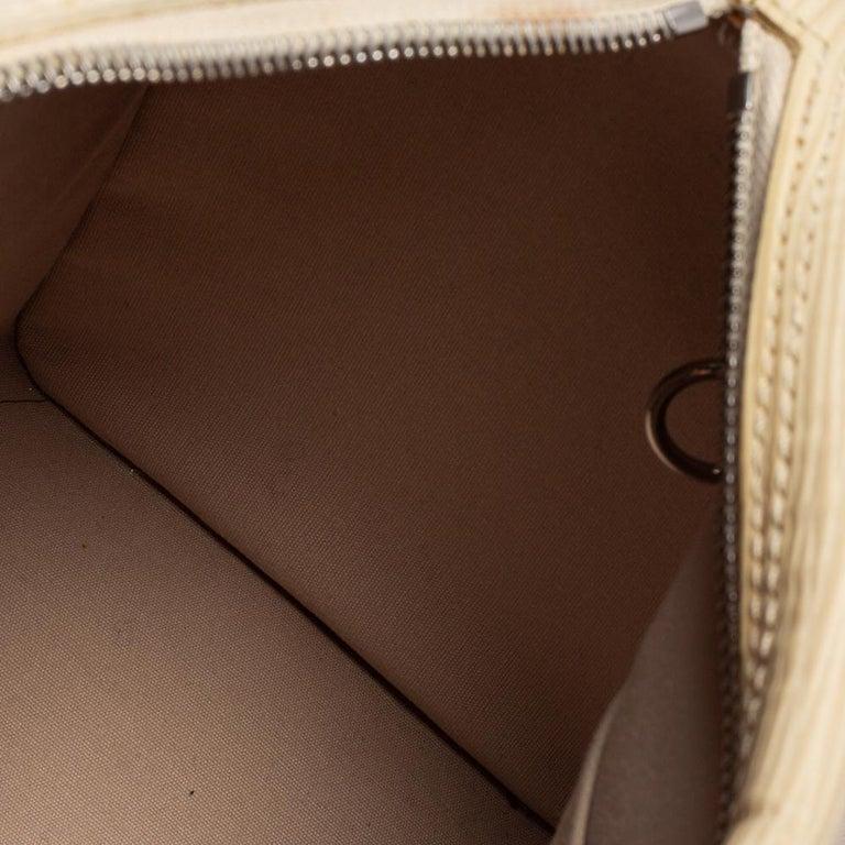 Louis Vuitton Ivory Epi Leather Speedy 25 For Sale 5