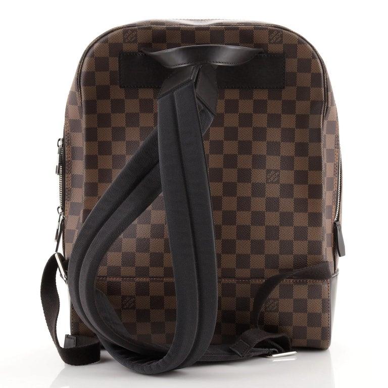 Black Louis Vuitton Jake Backpack Damier For Sale