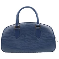 Louis Vuitton Jasmin Epi Blue Leather Hobo Ladies Bag