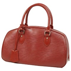 LOUIS VUITTON Jasmine Womens handbag M52087 castilian red
