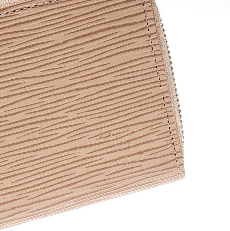 Louis Vuitton Jaune Pale Epi leather Zippy Wallet For Sale 5