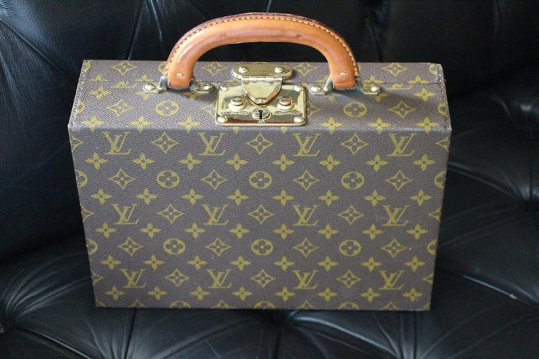 Louis Vuitton Jewelry Case Monogram Canvas, Louis Vuitton Jewelry Trunk For Sale 13