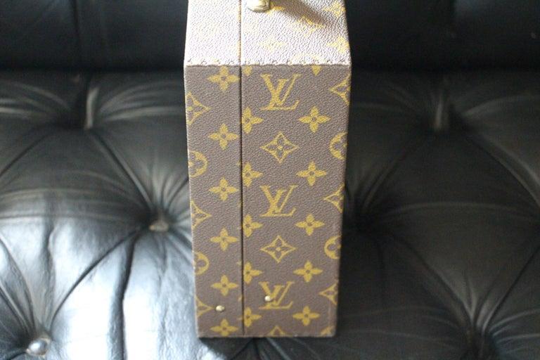 Women's or Men's Louis Vuitton Jewelry Case Monogram Canvas, Louis Vuitton Jewelry Trunk For Sale