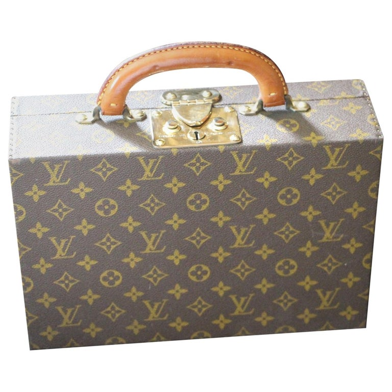 Louis Vuitton Jewelry Case Monogram Canvas, Louis Vuitton Jewelry Trunk For Sale