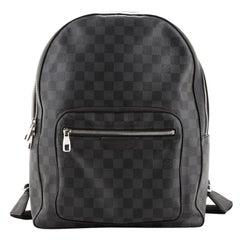 Louis Vuitton Josh Backpack Damier Graphite
