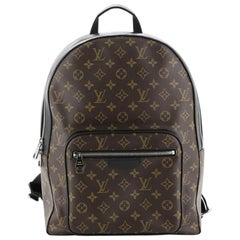 Louis Vuitton Josh Backpack Macassar Monogram Canvas