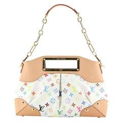 Louis Vuitton Judy Handbag Monogram Multicolor MM