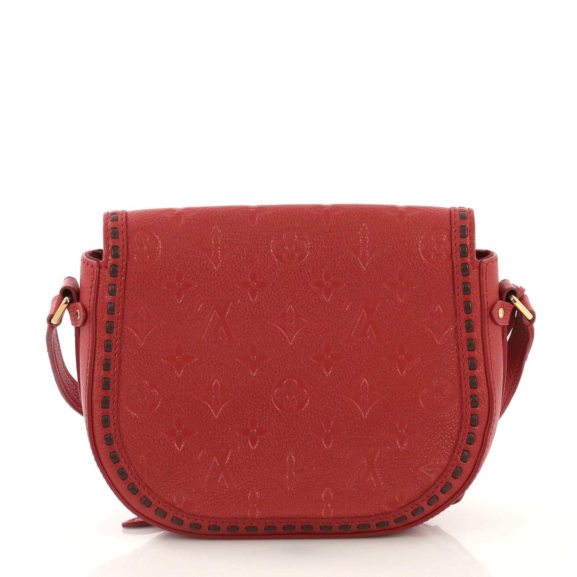 c076121ed7c89 Louis Vuitton Junot Handbag Monogram Empreinte Leather For Sale at 1stdibs