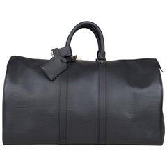Louis Vuitton Keepall 45 EPI Weekend Bag