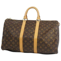 LOUIS VUITTON Keepall 45 unisex Boston bag M41428