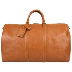 Louis Vuitton Keepall 50 Epi Bag