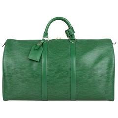 Louis Vuitton Keepall 50 EPI Weekend Bag