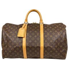 Louis Vuitton Keepall 50 Monogram Weekend Bag