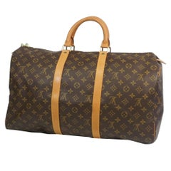 LOUIS VUITTON Keepall 50 unisex Boston bag M41426