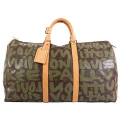 Louis Vuitton Keepall Bag Limited Edition Monogram Graffiti 50