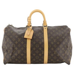 Louis Vuitton Keepall Bag Monogram Canvas 45