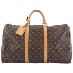 Louis Vuitton Keepall Bag Monogram Canvas 5