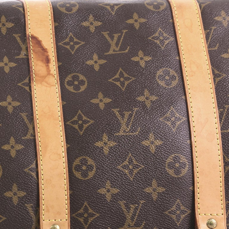 Louis Vuitton Keepall Bag Monogram Canvas 55 For Sale 5