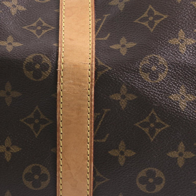Louis Vuitton Keepall Bag Monogram Canvas 55 For Sale 6