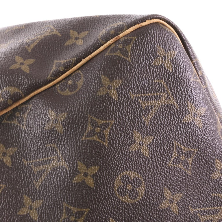 Louis Vuitton Keepall Bag Monogram Canvas 55 For Sale 7