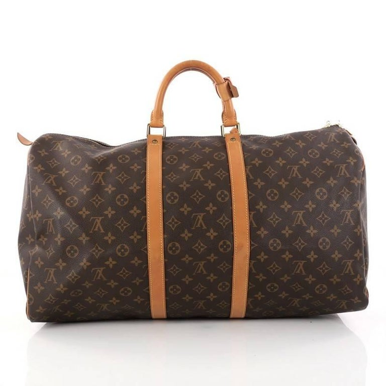 Louis Vuitton Keepall Bag Monogram Canvas 55 In Good Condition For New York