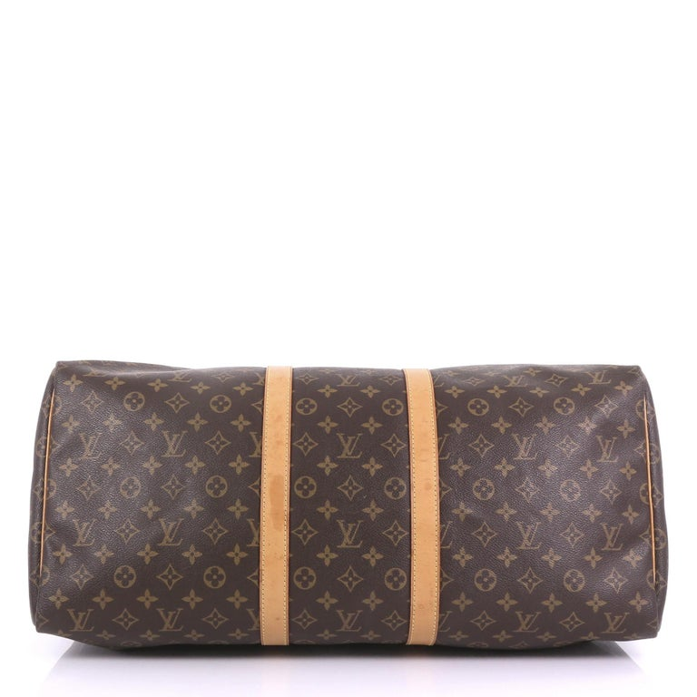 Women's Louis Vuitton Keepall Bag Monogram Canvas 55 For Sale
