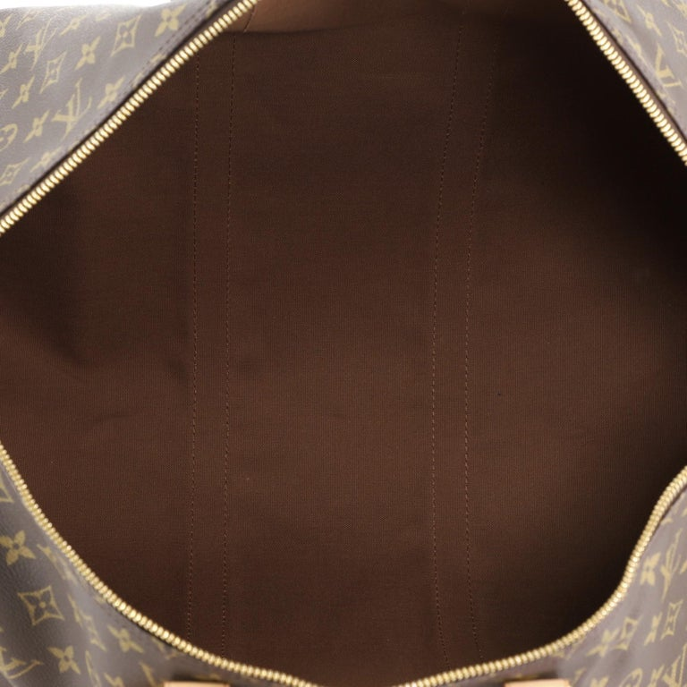 Louis Vuitton Keepall Bag Monogram Canvas 55 For Sale 1