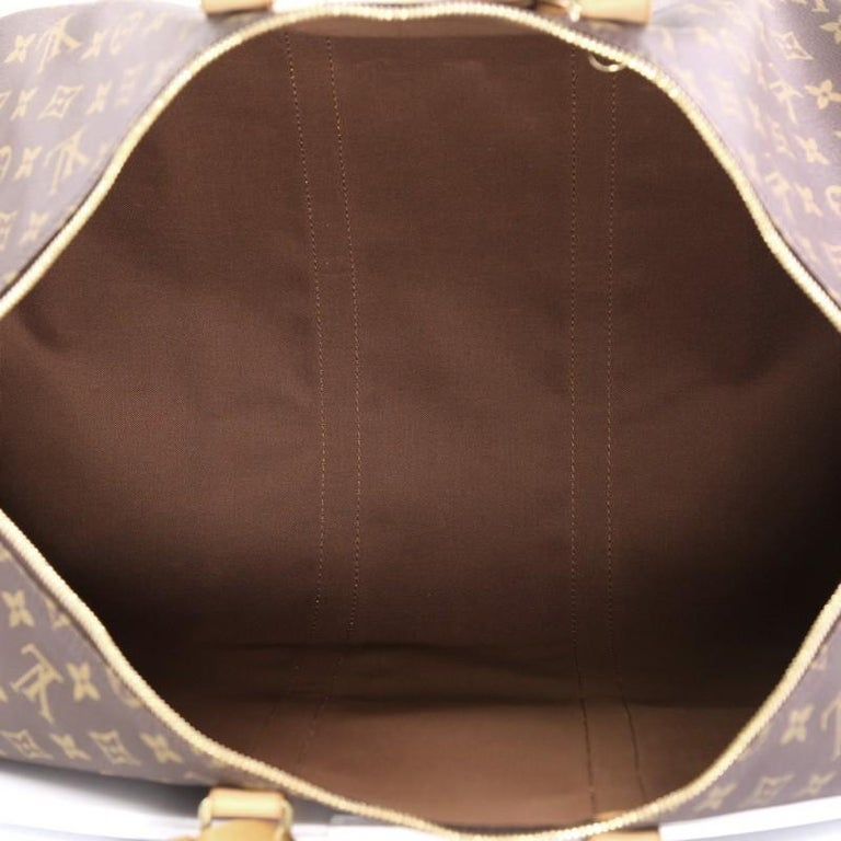 Louis Vuitton Keepall Bag Monogram Canvas 55 For Sale 1